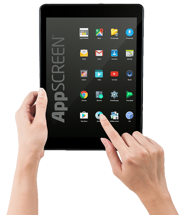 android tablet appscreen