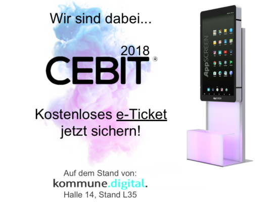 Smart City auf der Cebit