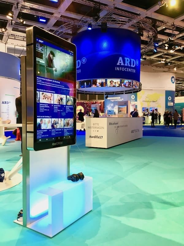 appscreen at ard ifa Berlin